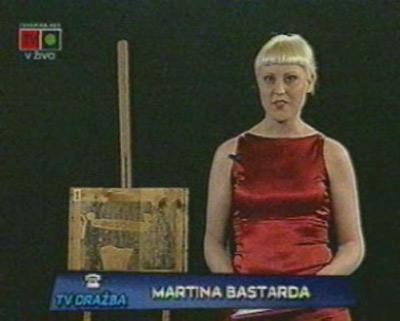Martina Bastarda, TV dražba